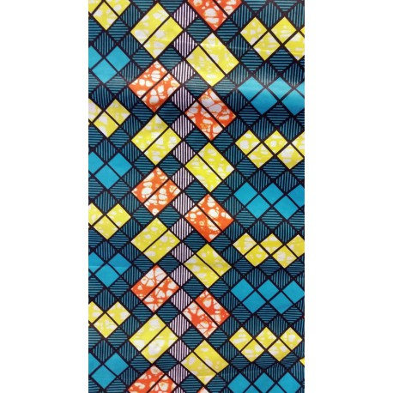 African Wax Print Fabric 01