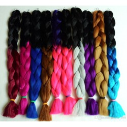 Kanekalon Ombre Braid 100g