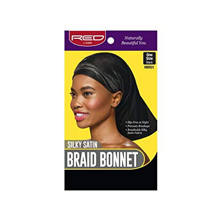 Silky Satin Braid Bonnet