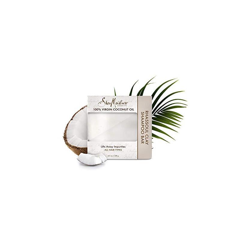 Coconut oil Rhassoul Clay Shampoo Bar 128g