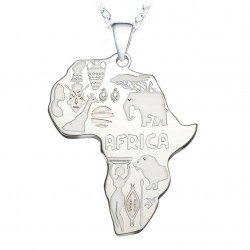 Africa Silver Chain