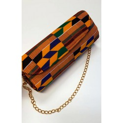 Kente Clutch bag 01