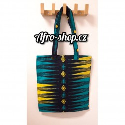 African Print Shopper Bag 01