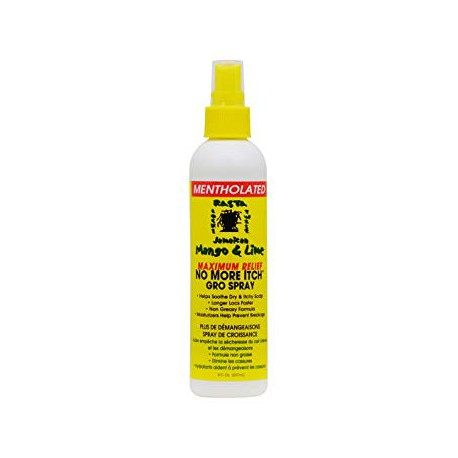 Mentholated No more Itch Gro Spray 237ml