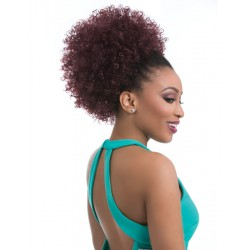Natural Afro Instant Pony