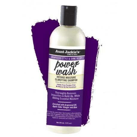 Power Wash Clarifying Shampoo 355ml
