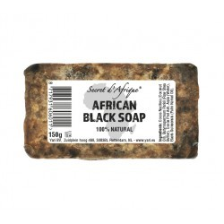 Secret d'Afrique Raw African Black Soap 150g