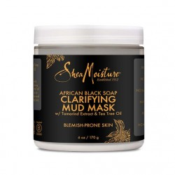 African Black Soap Mud Mask 170g
