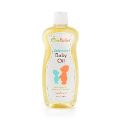 Softening baby oil