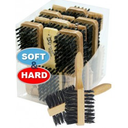 2 sided Soft & Hard hair brush