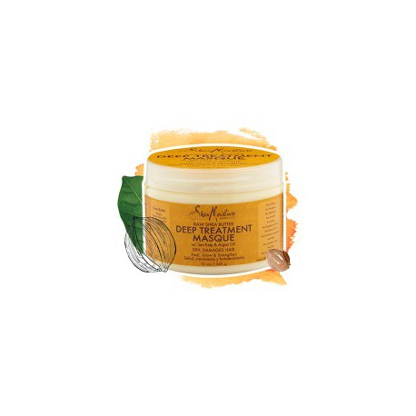 Raw Shea Butter Deep Treatment Masque 340g