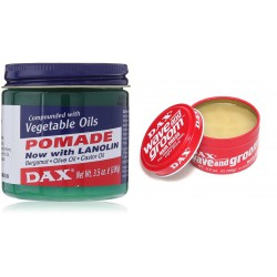 DAX Pomade: Vegetable + Wave & Groom